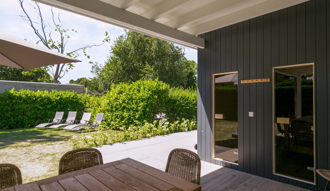 De Babbelaar Domburg saunas
