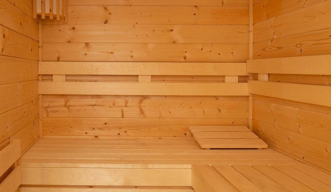 De Babbelaar Domburg sauna inside